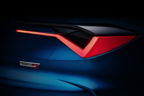 Acura Type S Concept To Preview New Tlx Sedan At Pebble Beach