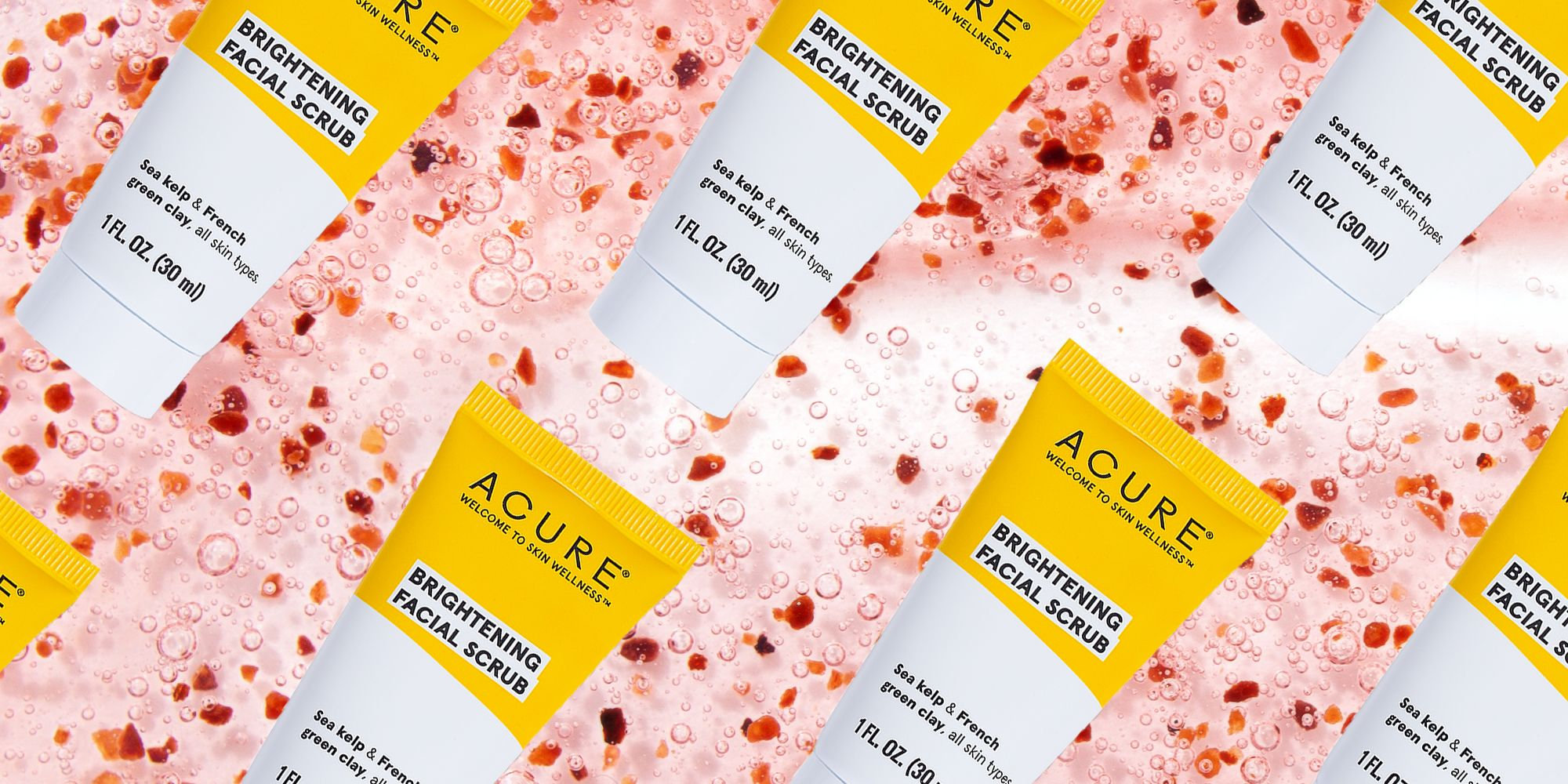 Acure Brightening Facial Scrub is clearing people's acne