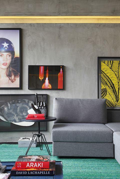 Apartamento industrial. Studio Guilherme Torres. Foto: Denilson Machado de MCA Studio