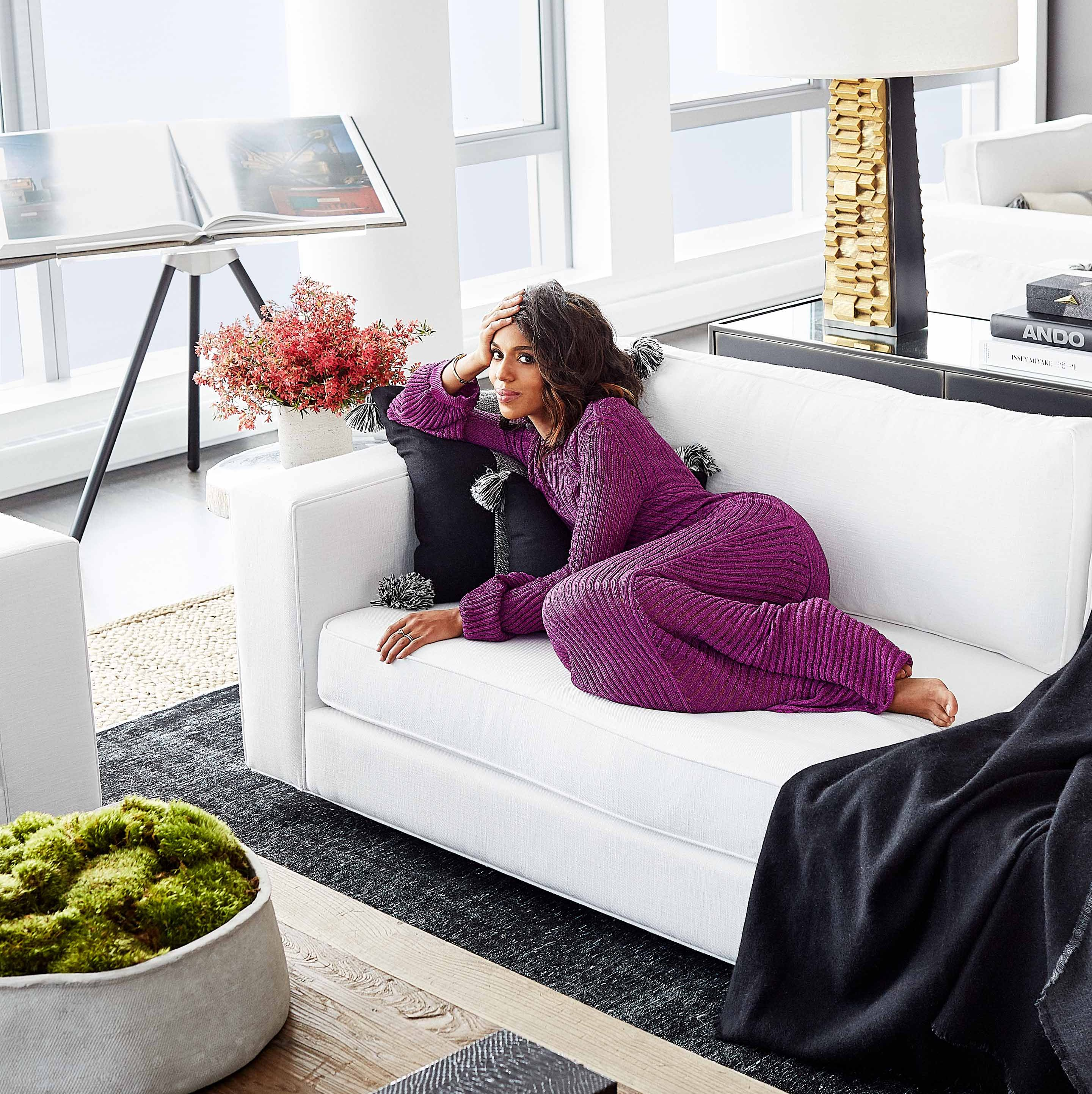 Kerry Washington's New York Apartment Is as Chic as You'd Imagine