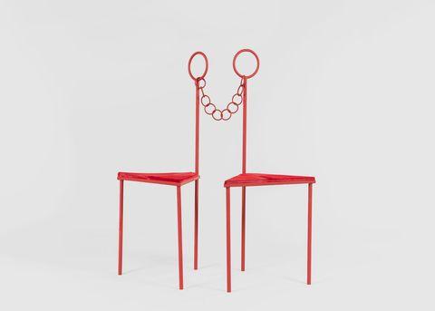 Exposición The Chair en la galería The Future Perfect de Nueva York