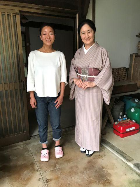 花井雅美さんと安達絵里子さん