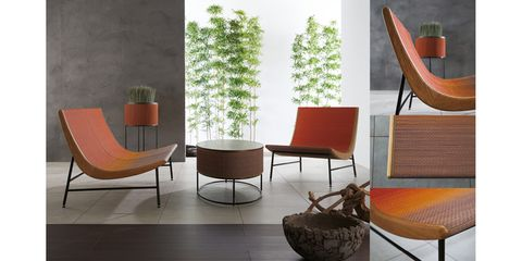 Wood, Interior design, Room, Floor, Furniture, Hardwood, Interior design, Orange, Flooring, Chair,