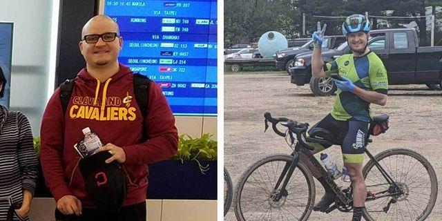 cycling weight loss adam bennett