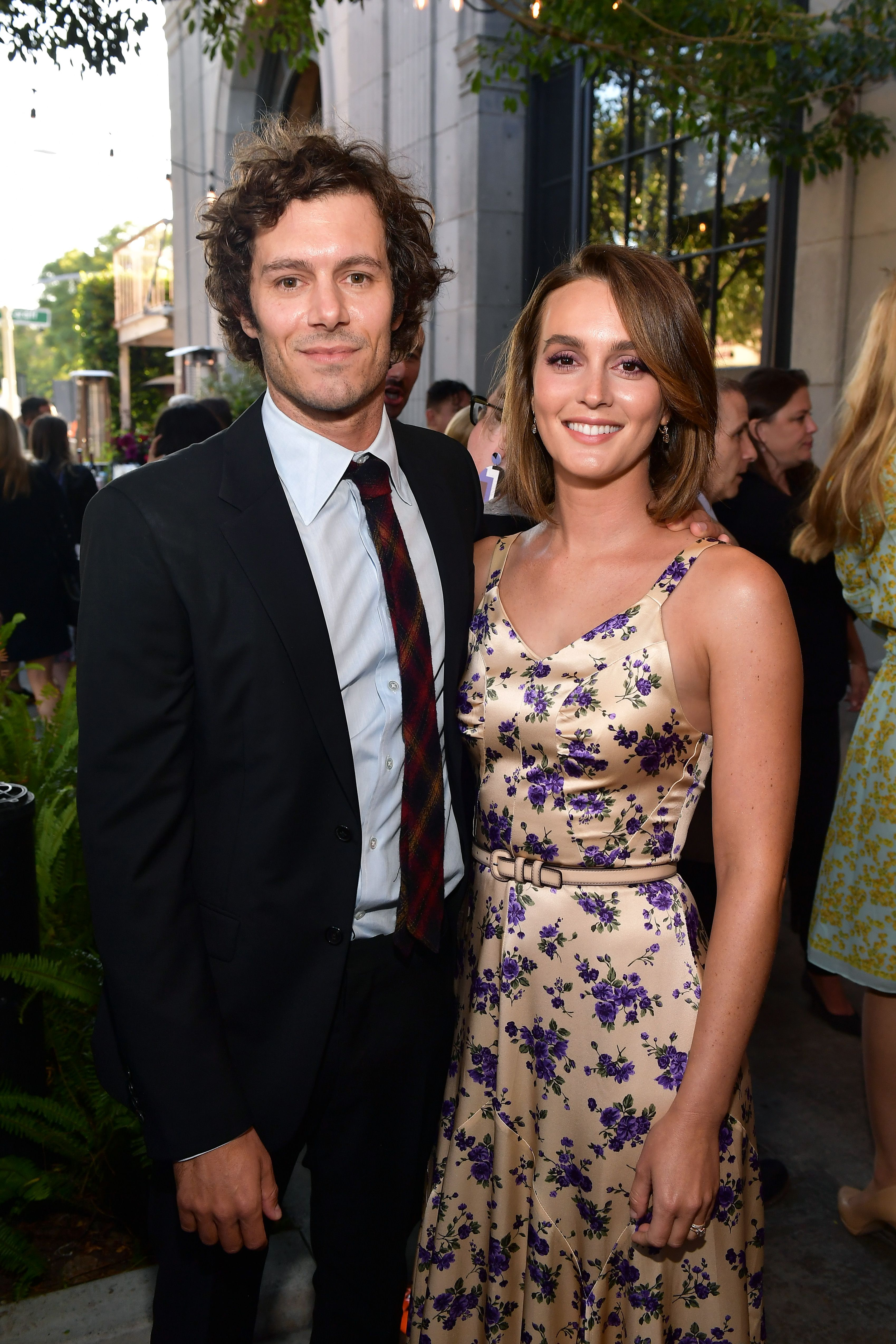 Leighton Meester And Adam Brody Make Rare Red Carpet Appearance Together