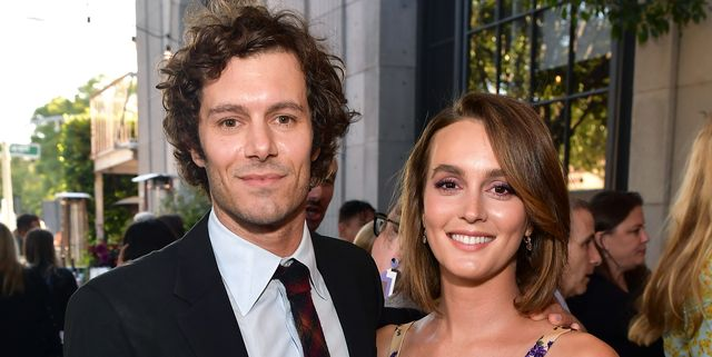 Leighton Meester And Adam Brody Looked Seriously Loved Up On The Red Carpet