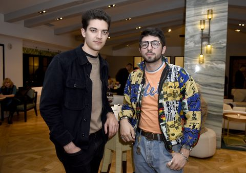 adam faze, left, with jamie dolan