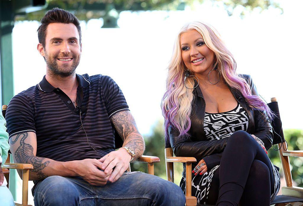 """Christina Aguilera """"Wasn't Surprised"""" That Adam Levine Quit 'The Voice'"""