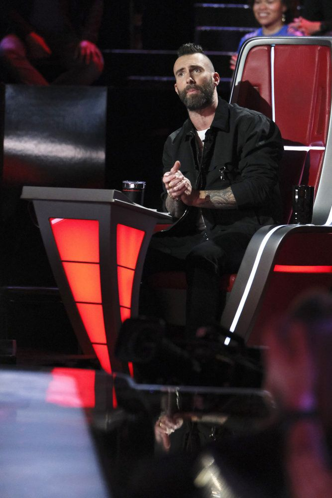 'The Voice' Coach Adam Levine Got a Lot of Attention for His Passionate Speech Last Night