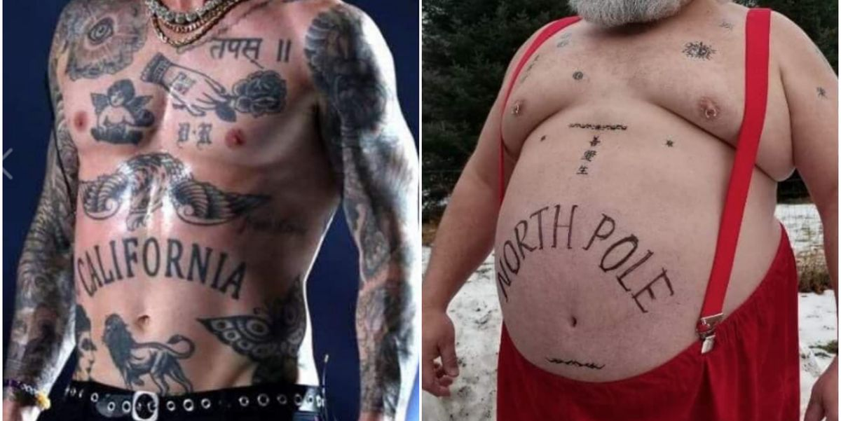 Men Across the Country Are Trolling Adam Levine and His Infamous Tattoos