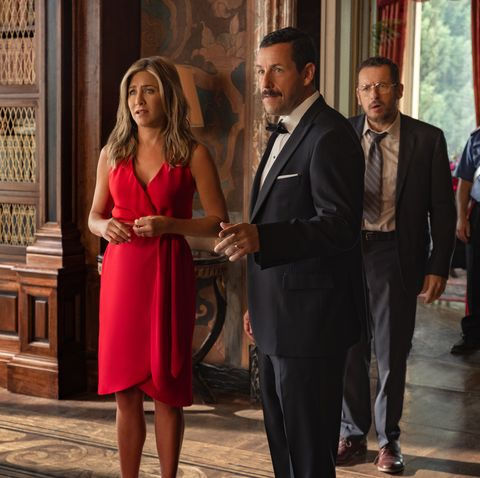 Adam Sandler and Jennifer Aniston Have THE BEST Story From Filming Netflix's 'Murder Mystery'