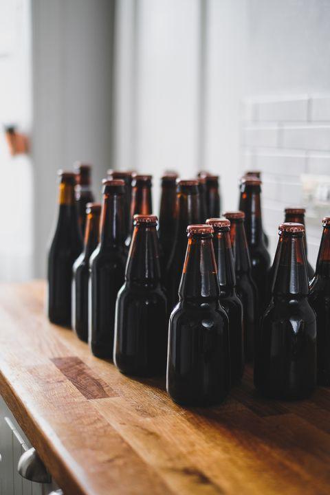 Bottle, Glass bottle, Drink, Wine bottle, Beer bottle, Wood, Tableware, Drinkware, Liqueur, Wine,