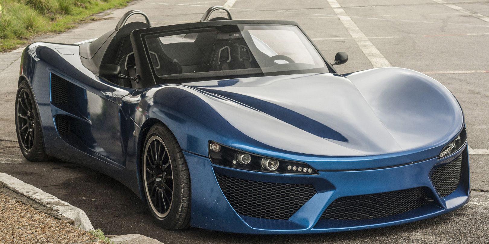 Adamastor portugal's latest sports car is the lightweight, bare-bones