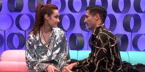 Adara está enamorada de 'El Tiempo del descuento'