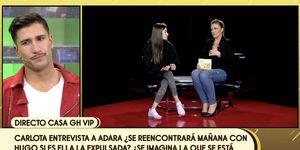 Adara se confiesa con Carlota Corredera, Adara habla con Carlota Corredera, Adara se desahoga con Carlota Corredera