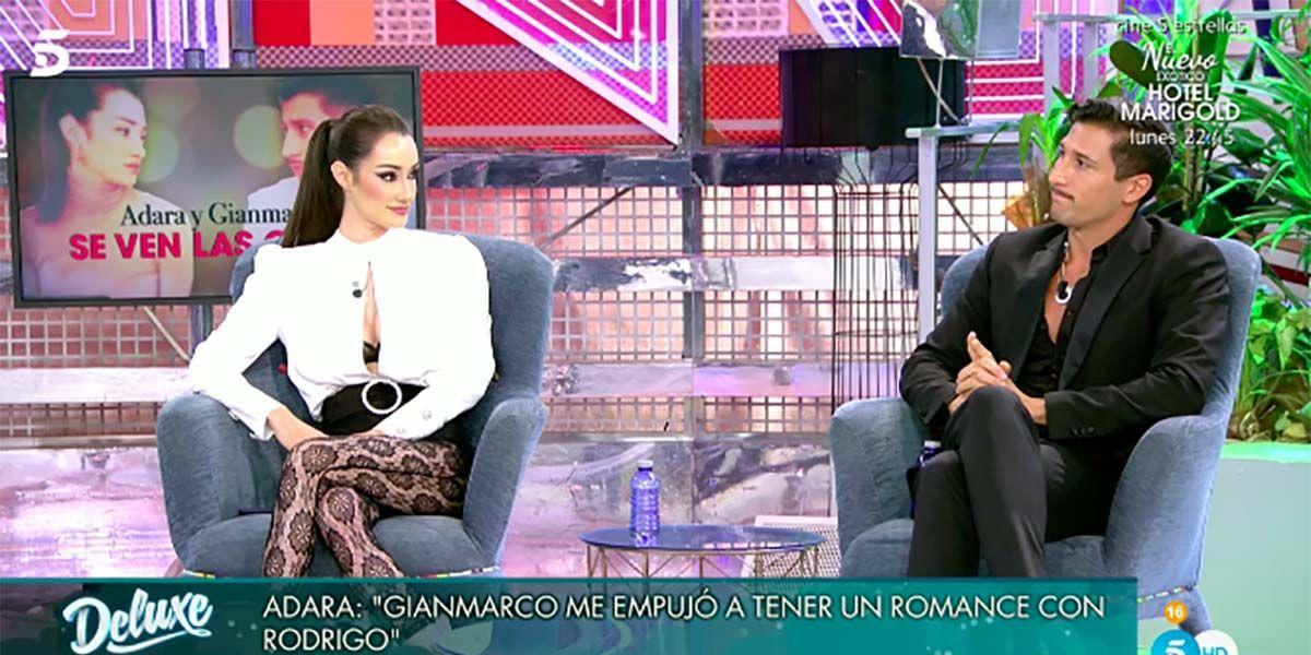 Adara y Gianmarco vuelven a verse cara a cara
