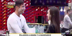 Adara y Gianmarco pillados