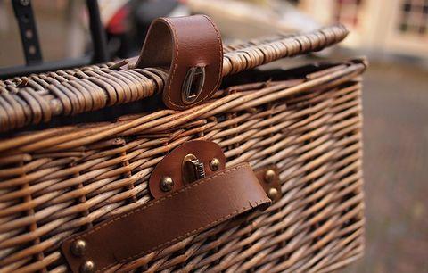 A bike basket.