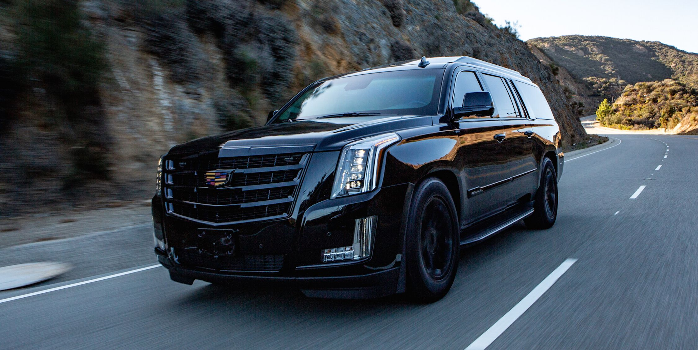 Armored Cadillac Escalade Is the Mobile Safe Room of Your Dreams