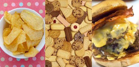 研究で判明!「中毒性の高い食べ物&低い食べ物」ランキング