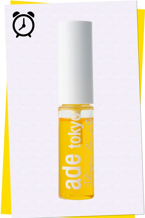 Yellow, Liquid, Material property, Cosmetics, Lip care, Lipstick, Cylinder,