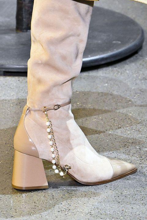 Footwear, White, Shoe, Street fashion, Boot, Ankle, Beige, Leg, Fashion, Human leg,
