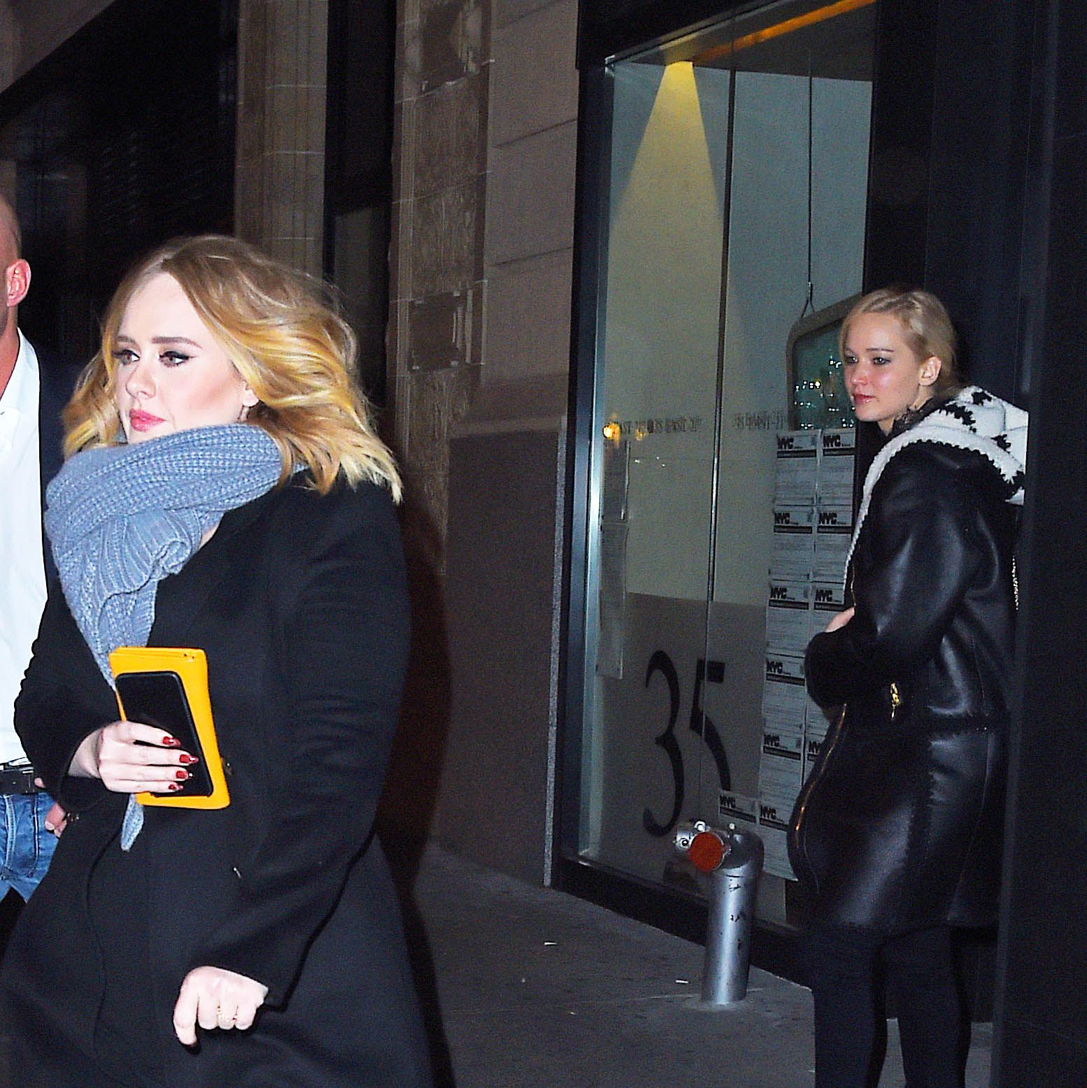 Jennifer Lawrence and Adele Just Partied Together at a Gay Bar & the Photos Are Epic