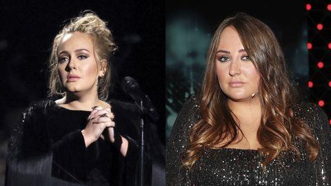 Rocío Flores y Adele, dos famosas iguales