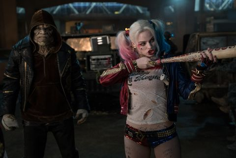 Adewale Akinnuoye-Agbaje unrecognizable in 'Suicide Squad' with Harley Quinn (Margot Robbie)
