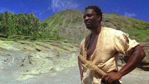 Adewale Akinnuoye-Agbaje en 'Perdidos'
