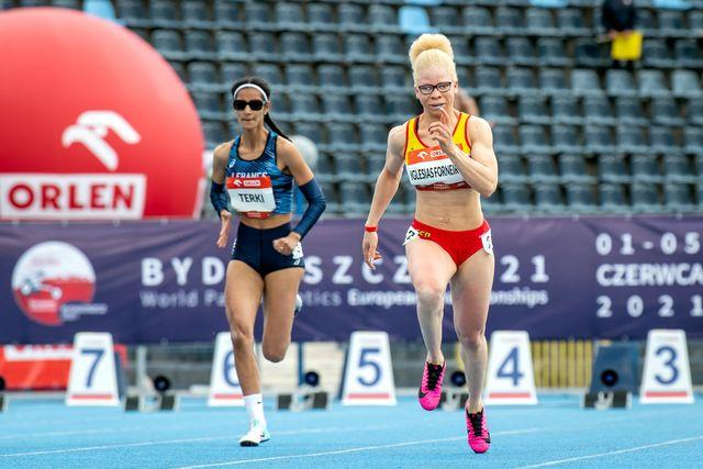adiaratou iglesias gana dos oros en el europeo de atletismo paralimpico