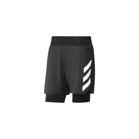adidas agravic 2in1 short zwart hardloopshorts korte broek hardloopkleding