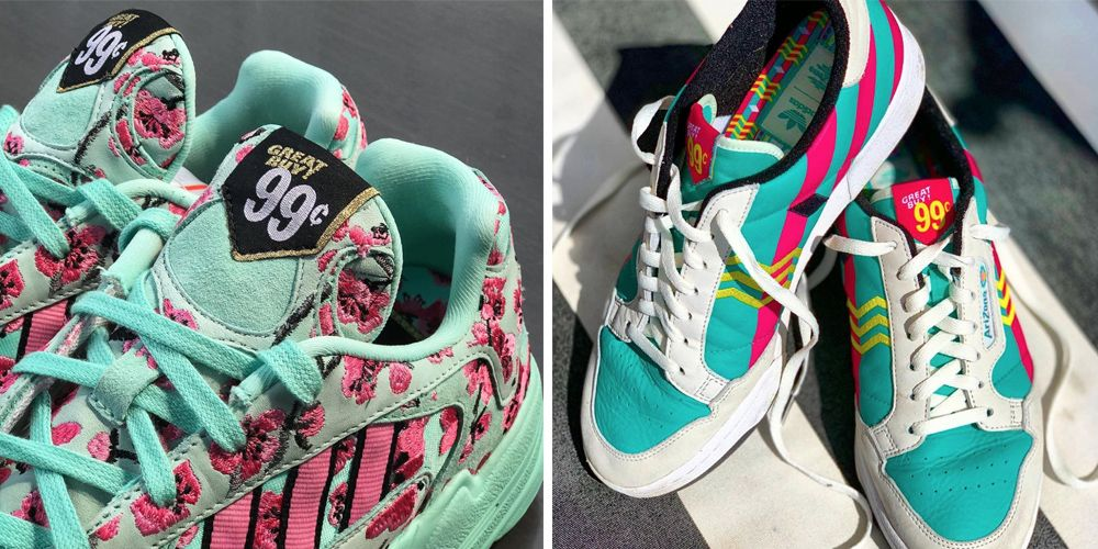 Adidas is Selling Their AriZona Iced Tea Sneakers For 99 Cents