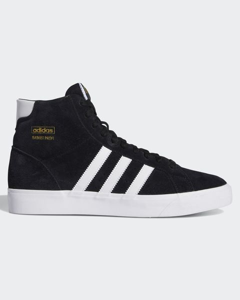 clothing that changed my life adidas black and white suede high top basket profi trainers