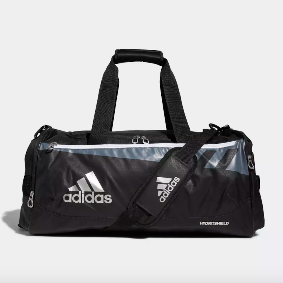 Adidas duffle bag with shoe compartment