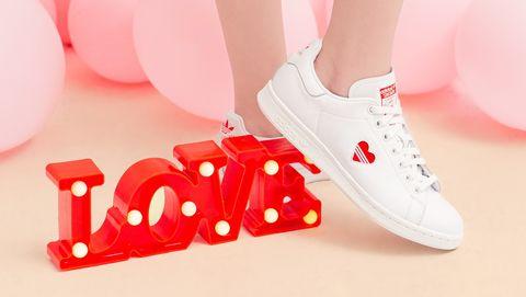 adidas Originals 經典小白鞋 Stan Smith 七夕情人節限定情侶球鞋