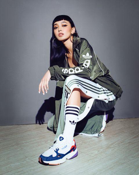 adidas, adidas originals, 復古老爹鞋Falcon, 愛迪達球鞋