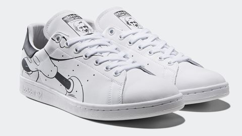 adidas Originals Out of Office Stan Smith 黑色球鞋,NT. 4,290