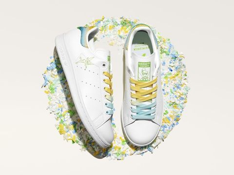 adidas originals stan smith disney系列 鞋款形象照tinkerbell奇妙仙子鞋款