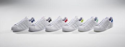 愛迪達SUPERSTAR 經典白球鞋推出城市限定版!