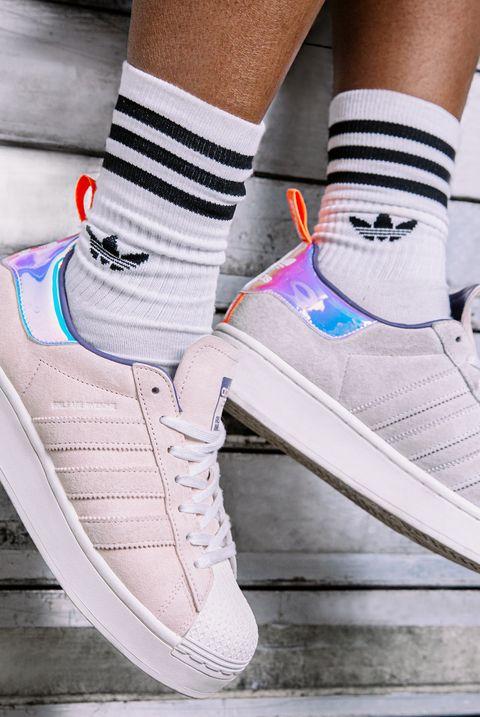 adidas originals superstar麂皮球鞋