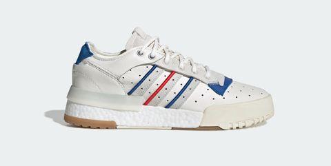 Shoe, Footwear, Outdoor shoe, White, Sneakers, Walking shoe, Blue, Product, Sportswear, Athletic shoe,