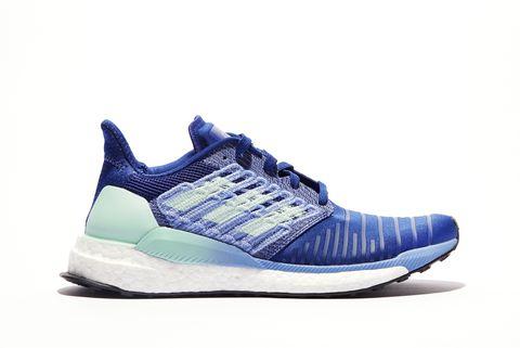 Shoe, Footwear, Outdoor shoe, White, Sneakers, Blue, Running shoe, Cobalt blue, Product, Walking shoe,