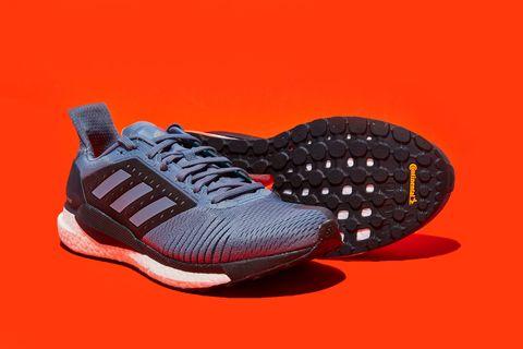 Shoe, Footwear, Orange, Running shoe, Outdoor shoe, Tennis shoe, Red, Walking shoe, Sneakers, Brown,