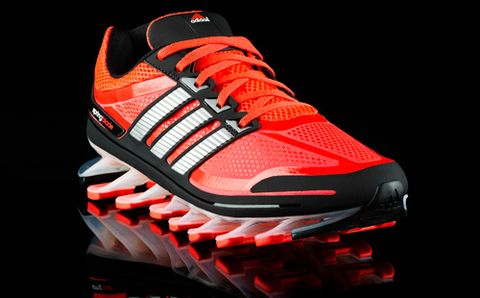 c3fddcdc8a6 New Adidas Shoe Features Plastic Springs