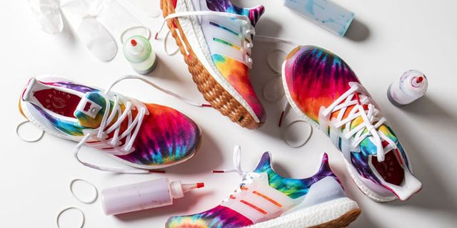 Adidas Launches Limited Edition Tie Dye Sneakers In Honor Of