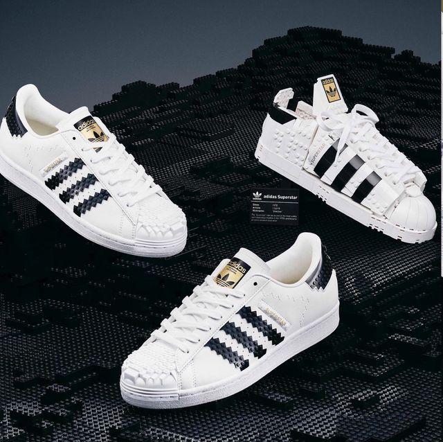 adidas x lego 聯名球鞋新款開賣!愛迪達推出可以穿的樂高superstar小白鞋 可愛到發瘋