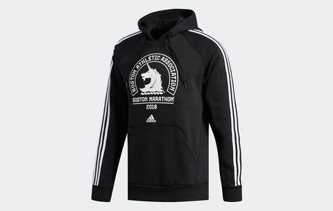 Adidas Boston Marathon Logo Hoodie