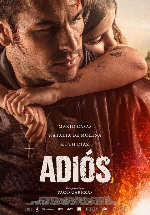 """Cartel final de """"Adiós"""" con Mario Casas"""