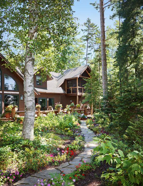 adironack cabin